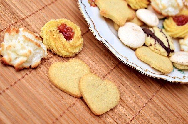 עוגיות חמאת בוטנים מומלחים